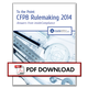 Thumbnail - To the Point: CFPB Rulemaking 2014