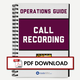 Thumbnail - Operations Guide: Call Recording