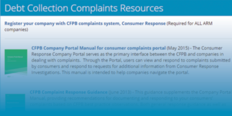Complaints Topic Page Preview