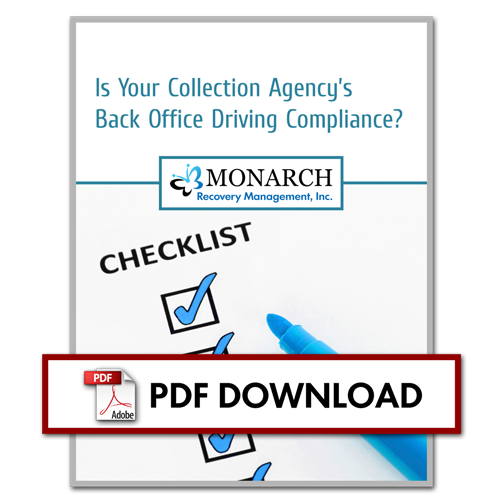 20130115 Is Your Collection Angencys Back Office Driving Compliance