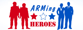 ARMing Heroes Bestows Inaugural Award on Coast Professional for Support of Veterans