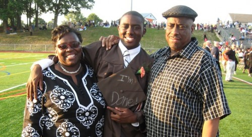 Kenon and Margaret Jenkins with their son, Kenon, Jr.