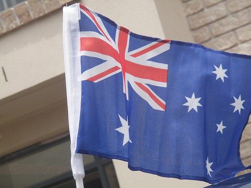 Australian Flag photo by marragem