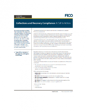 Collections Recovery Cover