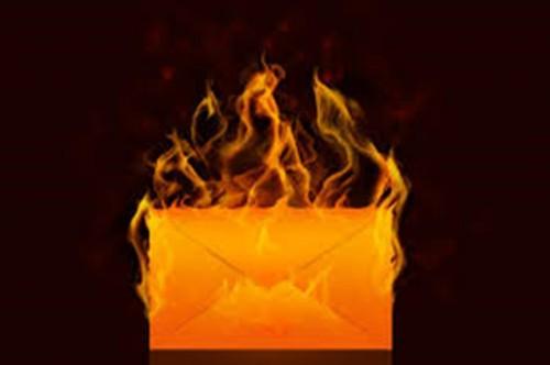 Envelope on Fire