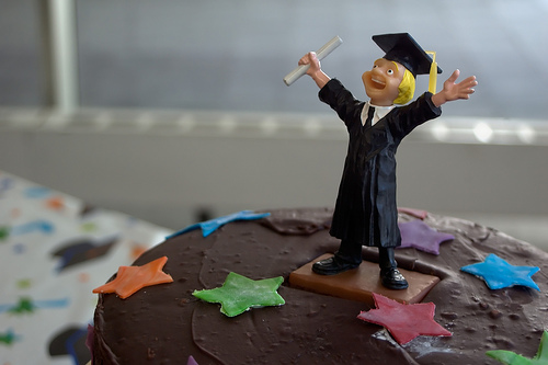 Grad Cake