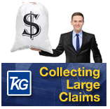 Information on debt collection of large commercial accounts