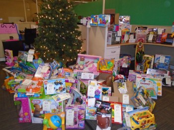 MRS BPO, LLC Collects Holiday Gifts for Children in Need