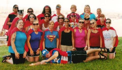 """NACS """"Super Heroes"""" 2012 Crew Team"""