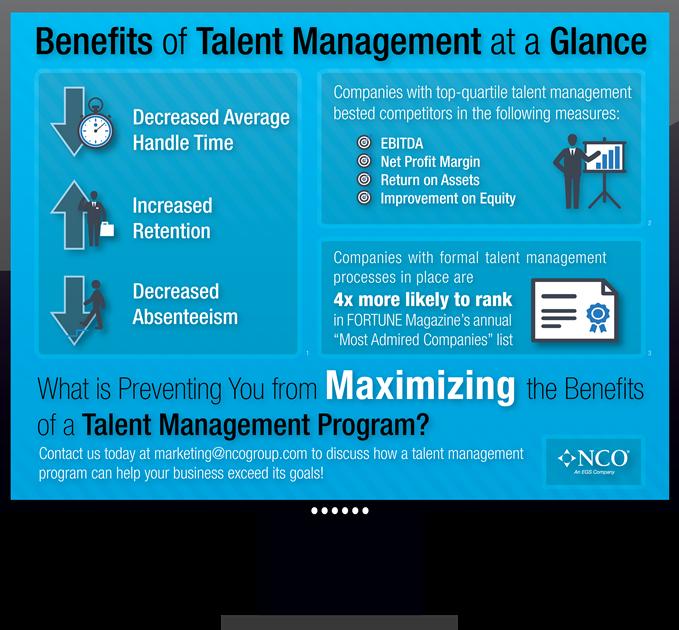 NCO Talent Management Infographic