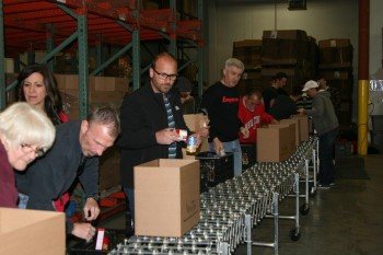 Empereon-Constar Employees Join St. Mary's Food Bank Alliance To Help Feed Local Families