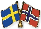Sweden-Norway-flags