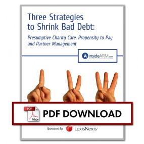 Three Strategies to Shrink Bad Debt Downloadable Thumbnail