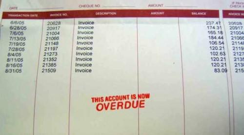 account-statement-bill-overdue