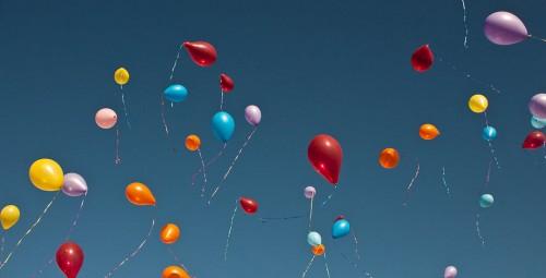 balloons, celebration, congratulations