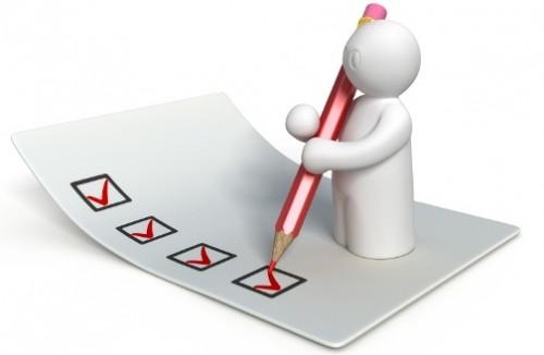 checklist, checkbox, box