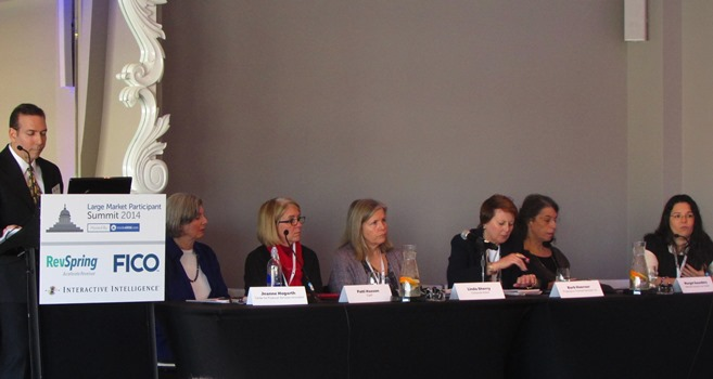 The consumer advocate panel at insideARM's Summit 2014
