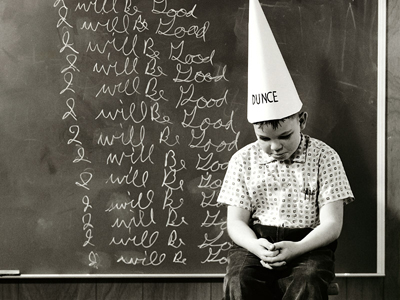 dunce cap