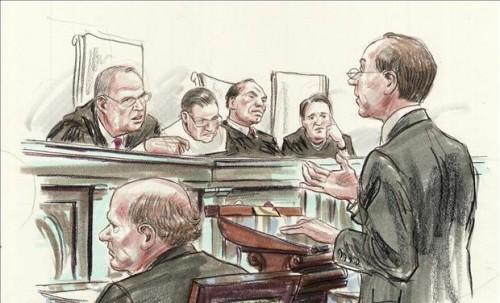 lawyer argument court