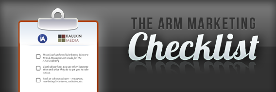 The ARM Marketing Checklist