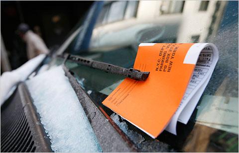 parking ticket fine fee
