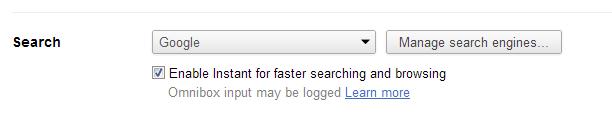 Add custom search