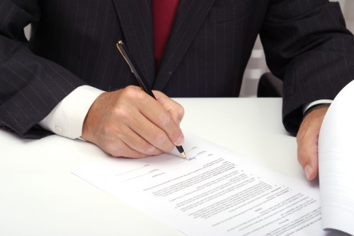 signed agreement settlement