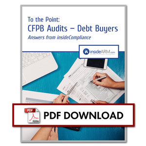 Thumbnail - To the Point: CFPB Audits – Debt Buyers
