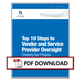 Top 10 Steps to Vendor and Service Provider Oversight Thumbnail