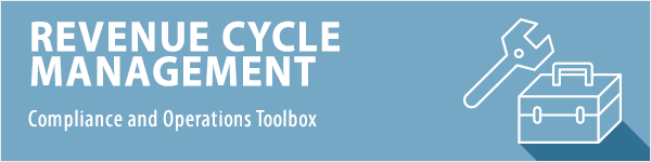 Revenue Cycle Management Toolbox Header