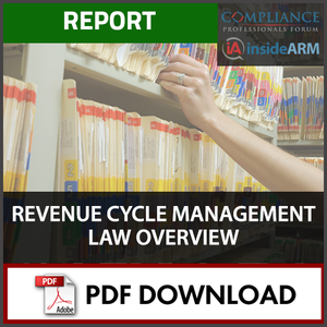 Revenue Cycle Management Law Overview Thumbnail