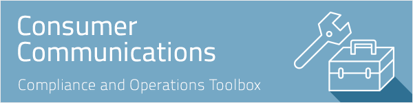 Consumer Communications Toolbox Header