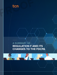 Stylized illustration of call center workers with the title of this whitepaper: FDCPA Debt Collection Rules Summary by TCN [Image by creator TCN from insideARM]