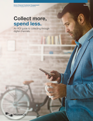Collect More Spend Less Guide from Nuance Cover