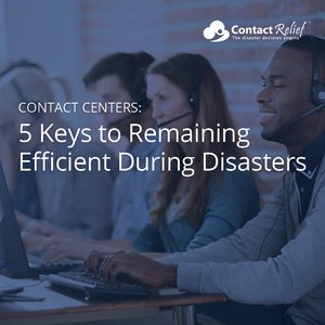 ContactRelief Remaining Efficient During Disasters eBook Thumbnail