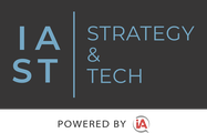 Logo for iA Strategy & Tech conference [Image by creator  from insideARM]