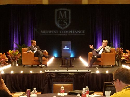 Midwest Compliance Symposium - Lemberg and Bedard - photo by Stephanie Eidelman
