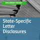 State-Specific Letter Disclosures