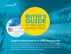 Buyer's Guide to Right-party Contact Data Whitepaper Thumbnail