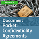 Document Packet Confidentiality Agreements