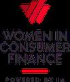 Women in Consumer Finance 2021 Logo [Image by creator Editor from insideARM]